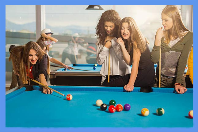 How to improve your pool game, tips for beginners