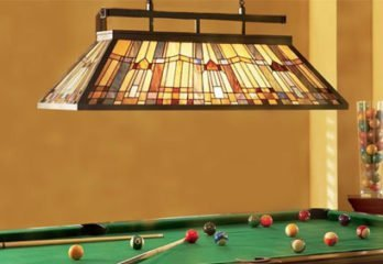 best pool table light