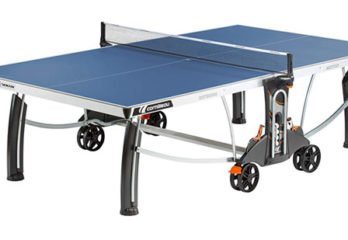 Crossover  Cornilleau 500m Indoor/Outdoor Blue Table Tennis Table Review