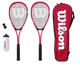 Wilson-Hyper Team-500 Squash Racket Set
