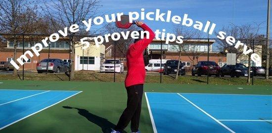 Improve your pickleball serve