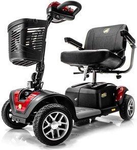 BUZZAROUND EX Extreme 4-Wheel Heavy Duty Long Range Travel Scooter