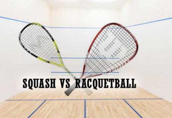 The Difference between Squash and Racquetball