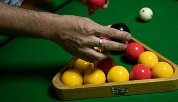 How To Rack Pool Balls Is there a Proper Way